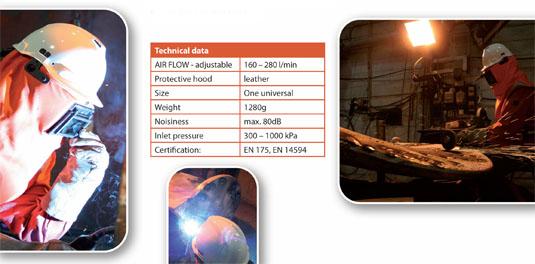 Ares svářečská kukla - welding hood